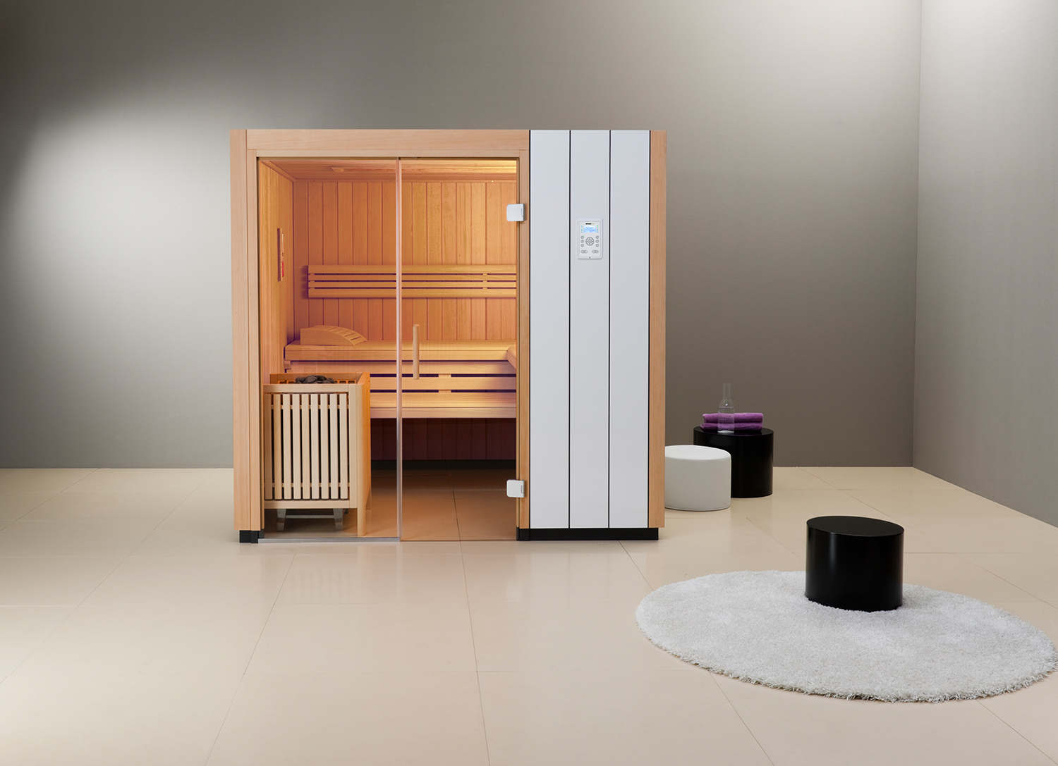 sauna infrarot bei feuerkultur. Black Bedroom Furniture Sets. Home Design Ideas