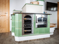 Kitchen stove used for cooking