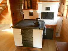 Traditional kitchen stove